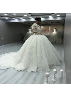 Elegante Brautkleider Luxus | Spitze Hochzeitskleider mit Ärmel_Brautkleider Mit Ärmel_Brautkleider_Brautkleider,Abiballkleider,Abendkleider